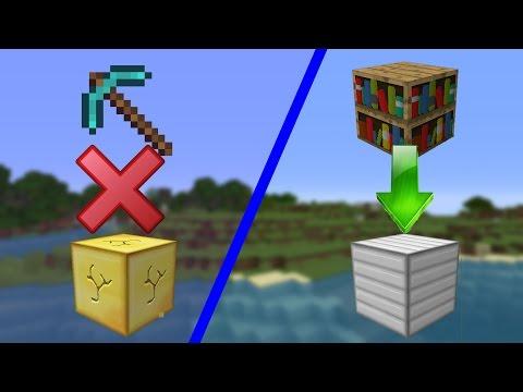 Как сделать кирку которая ломает определенный блок