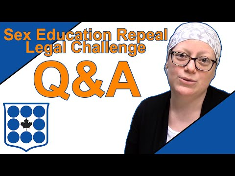 Ask an Expert: Sex-education Legal Challenge with CCLA's Cara Zwibel