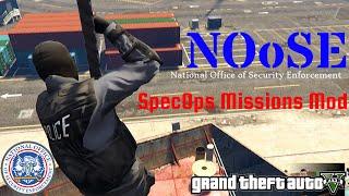 GTA V - NOoSE Missions mod ver. 0.1 (Cargo Ship)