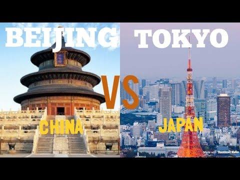 Beijing (CHINA) VS Tokyo (JAPAN)| Skyline/Infrastructure Comparison 2019