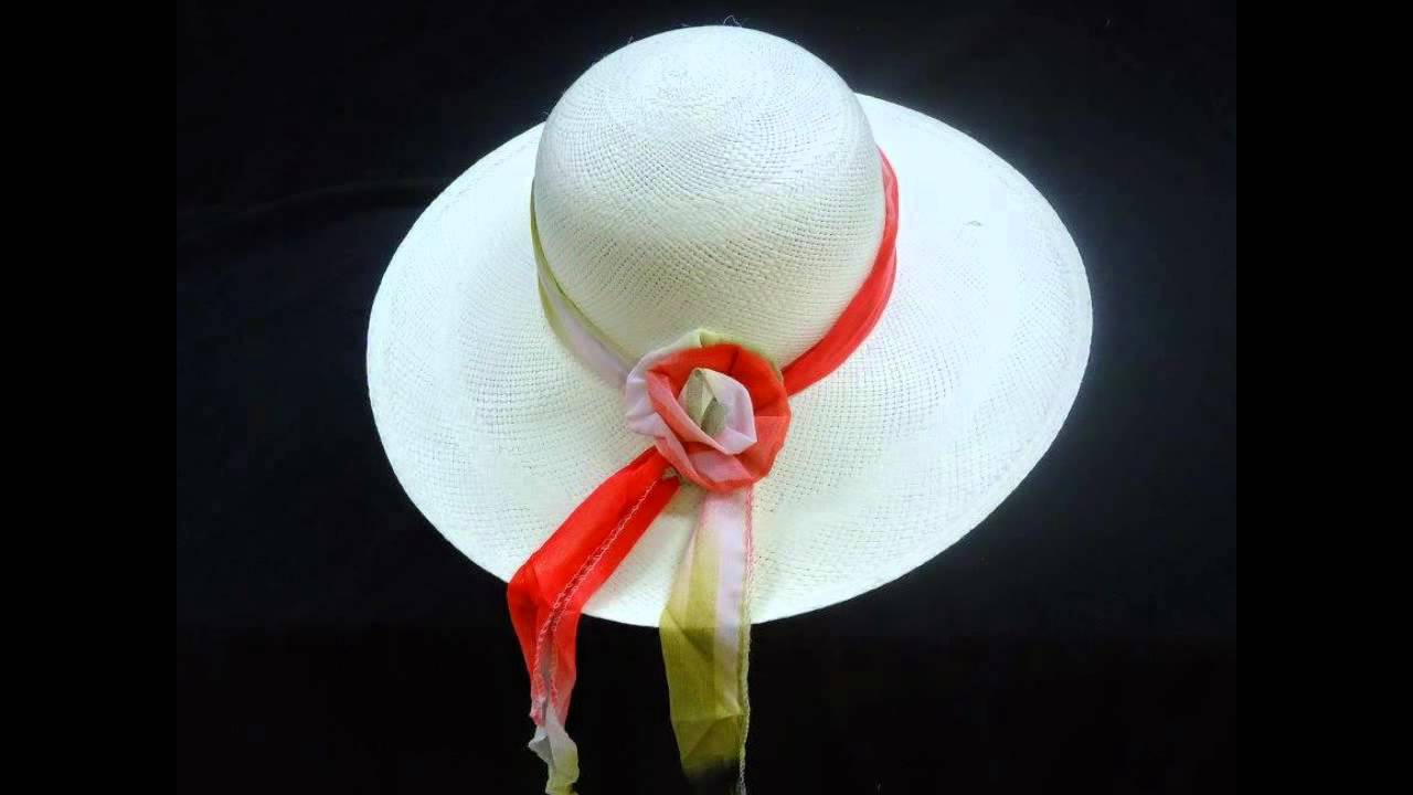 Sombreros de Paja Toquilla Ecuador - straw hats 9772991eaed
