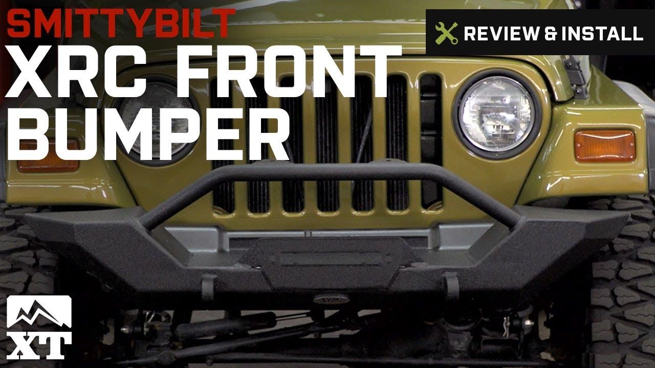 Smittybilt Xrc Front Bumper >> Jeep Wrangler Smittybilt Xrc Front Bumper 1997 2006 Tj Review Install