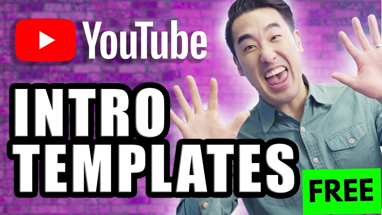 how to make a youtube intro 10 free youtube intro templates