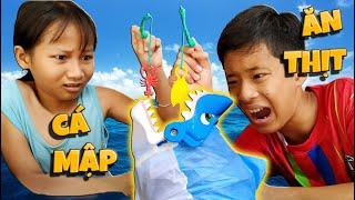 Tony | Trò Chơi Câu Cá Mập - Ai Xui Ăn Chanh