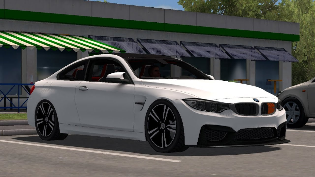 1 31 Euro Truck Simulator 2 Bmw M4 F82 Mods Youtube