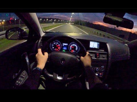 Renault Latitude Night   POV Test Drive #497 Joe Black