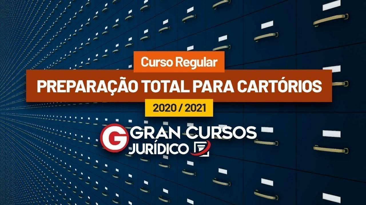 Download Curso Preparação Total 2020/2021 - Cartórios | Prof. Ricardo Alexandre