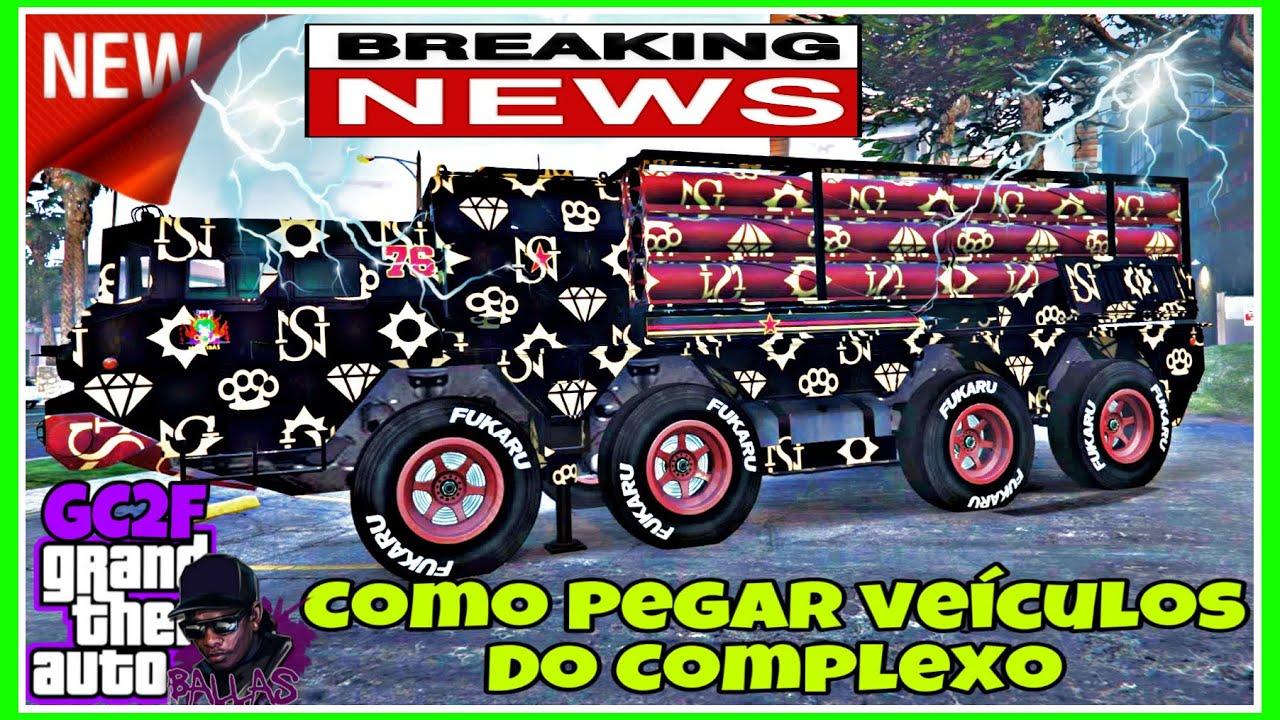 GTA V **NEW** COMO PEGAR VEÍCULOS ESPECIAIS DO COMPLEXO DOS SEUS AMIGOS NO NOVO GC2F PS4 /XBOX/PS5