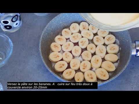 gâteau-avec-1-œuf-et-2-bananes!!!!!!!!
