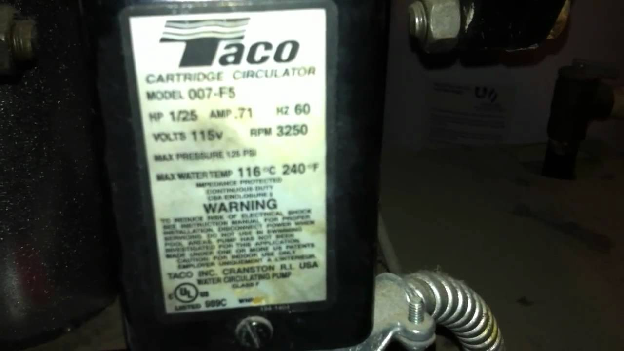 taco cartridge circulator 007 f5 taco cartridge circulator 007 f5