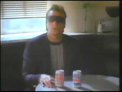 Joe Montana Ray Charles Diet Pepsi Challenge Commercial 1990 Coke