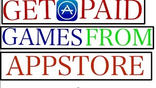 Get Paid Apps & Games From The AppStore For Free(Premium Appe Id)
