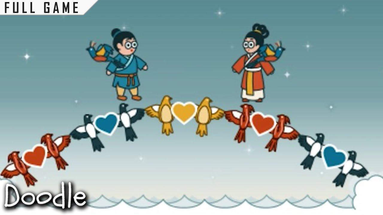 Google Doodle Qixi Festival Chilseok Aug 13 2013