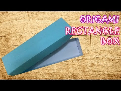 how to make an origami rectangular box funnycattv