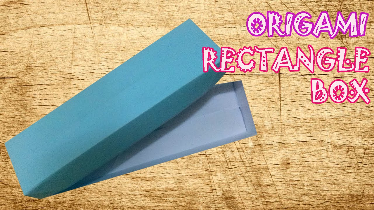 how to make origami rectangle box