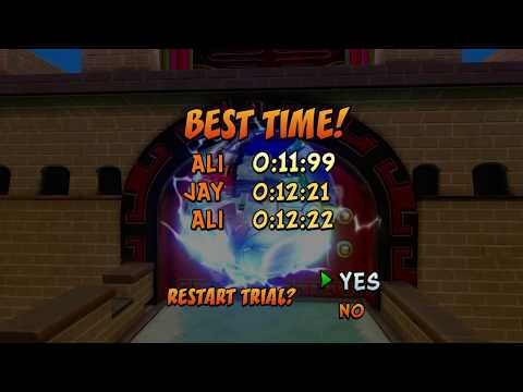 Orient Express 11:99 Time Trial - Crash Bandicoot N. Sane Trilogy Warped
