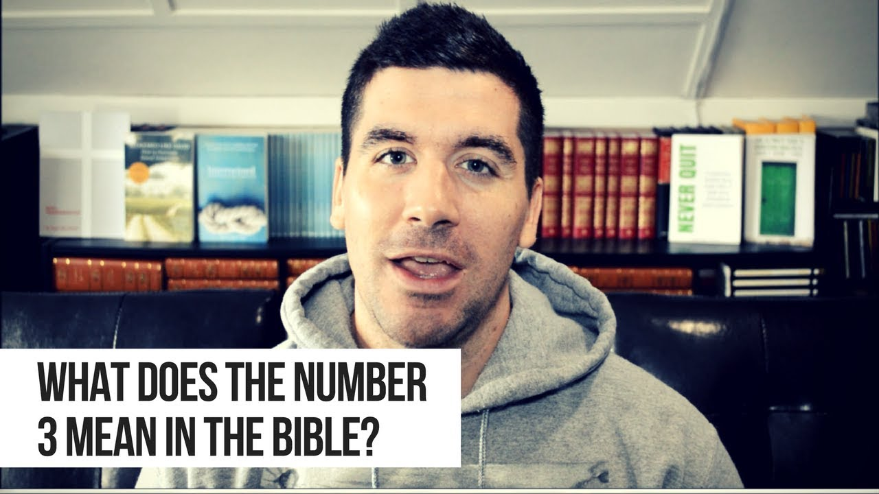 What Does the Number 3 Mean in the Bible?
