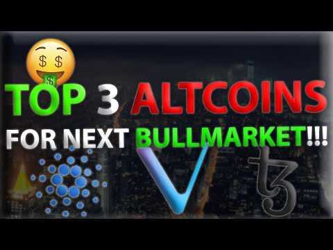 TOP 3 ALTCOINS FOR THE NEXT BULL RUN!! | Biggest ROI For 2020 Altcoins!?