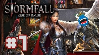 Stormfall: Rise of Balur - #1 - Face Stabbing Dwarves (Let's Play)