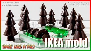 IKEA Christmas Tree Mold Tutorial by BakeLikeAPro