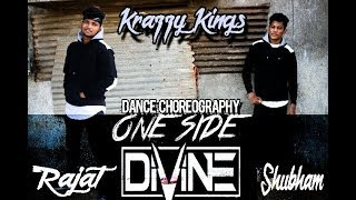 one side hip hop dance choreography - by krazzy kings dance crew