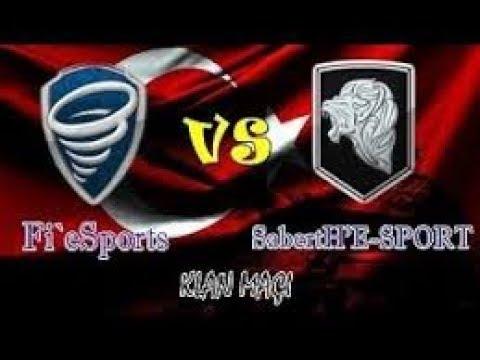 SabertH`E SPORT vs Fi`eSpots klan savaşı