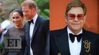 Elton John en Ellen DeGeneres helemaal klaar met kritiek op Harry & Meghan