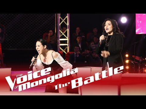 "Erkejan vs Margad - ""The heart wants what it wants"" - The Battle - The Voice of Mongolia 2018"