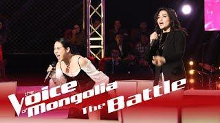"Erkejan vs Margad - ""The heart wants what it wants"" - The Battle - The Voice of Mongolia 2018"