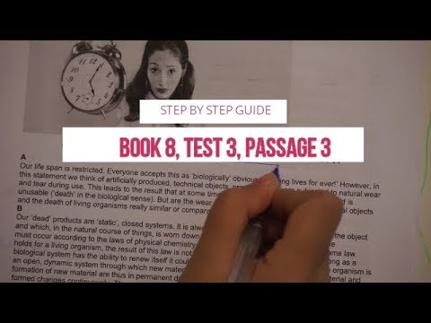 IELTS Reading Cambridge 8:Test 3- Passage 3- Step by step guide to do  reading test