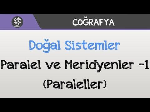 Doğal Sistemler - Paralel ve Meridyenler -1 (Paraleller)