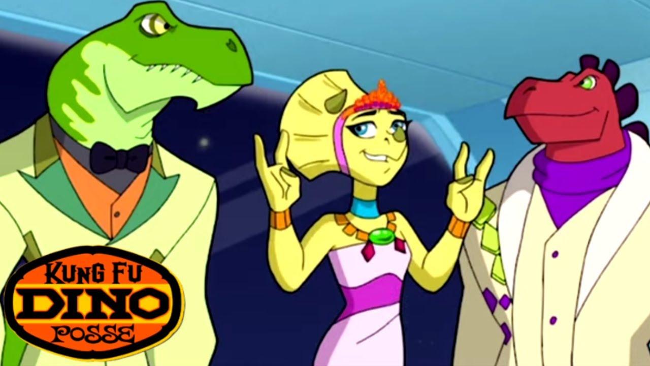 Kung Fu Dino Posse - Space Dinos | Full Episode | Kids