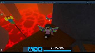 ROBLOX Flood Escape 2 Map Test- Lost Statue Ruins (EXTREME) by scaryblackpanther63