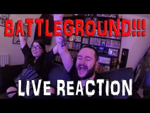 WWE BATTLEGROUND 2016 LIVE REACTION!!!