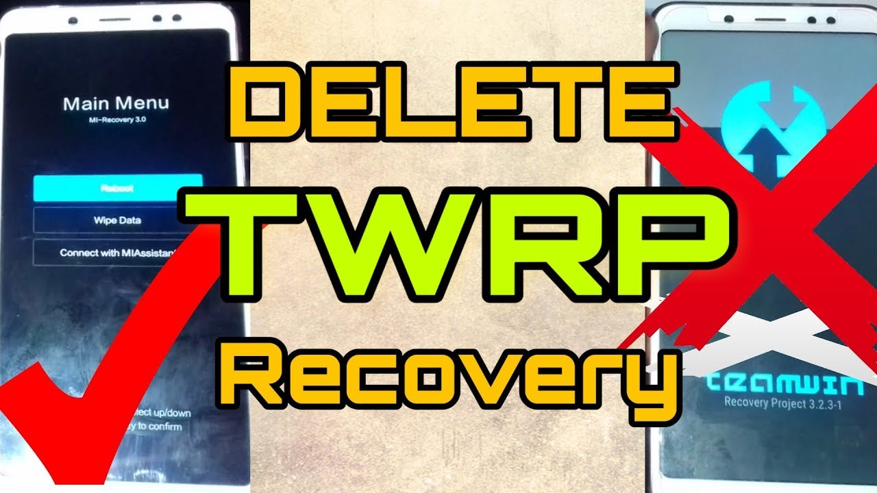 How To Remove TWRP and Get Back STOCK Recovery On Xiaomi