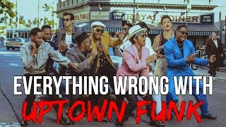 "Everything Wrong With Bruno Mars - ""Uptown Funk"""