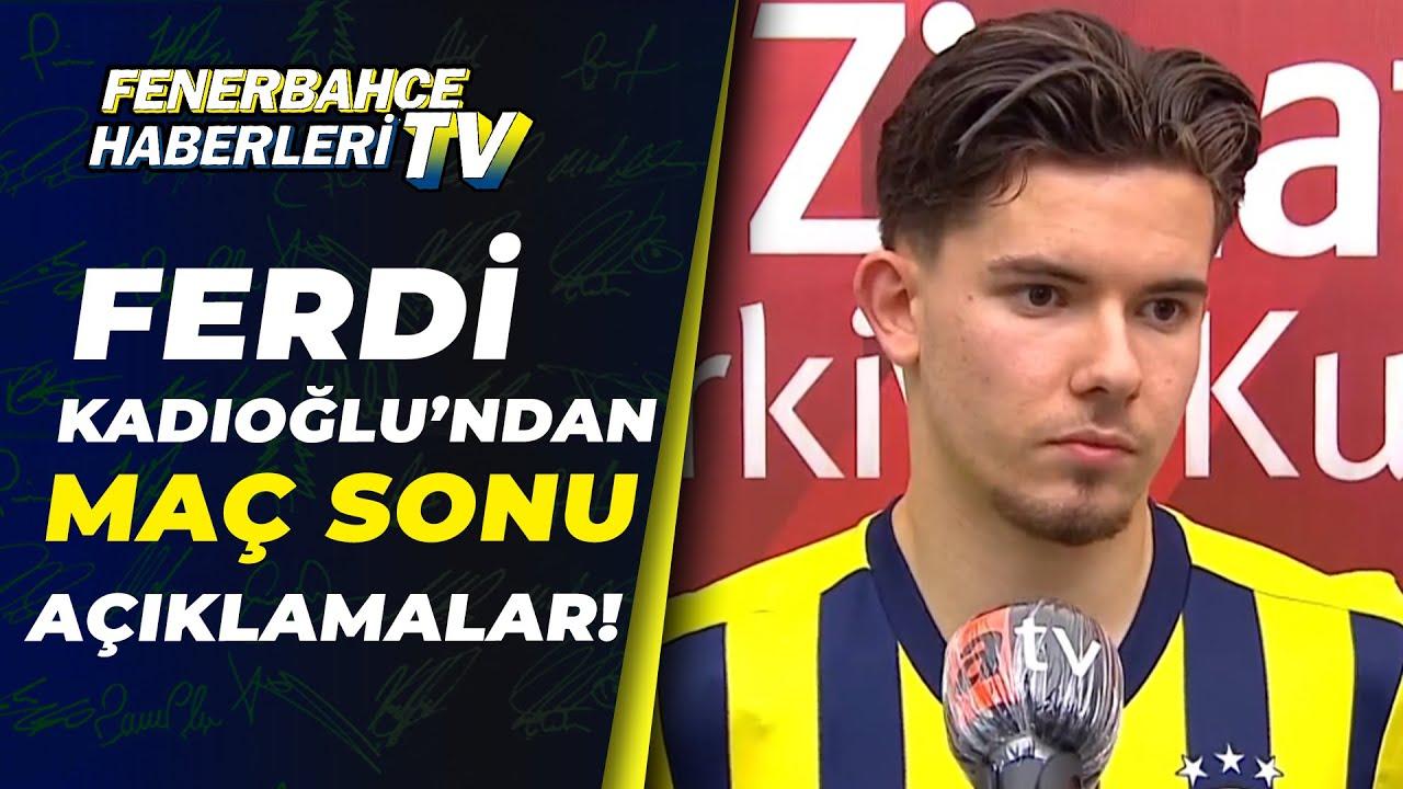 Fenerbahçe 1 - 0 Kasımpaşa Erol Bulut Maç Sonu Basın Toplantısı Düzenledi / A Spor