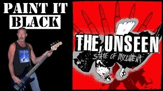 Paint it Black - The Unseen, free style bass cover