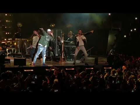 Bella y Sensual -  Romeo Santos Golden tour Miami, feat. Nicky Jam and random fan