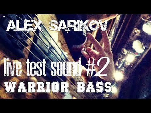 Warrior Signature Bass(Zoom B1on, Vovox, Line6 Relay, Gopro 3)