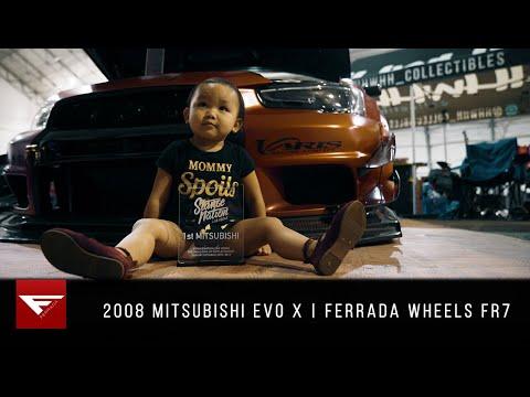 Mitsubishi Evo X | Daddy's Little Girl | Ferrada Wheels FR7