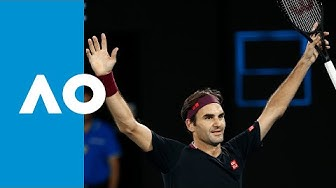 Roger Federer vs John Millman - Match Highlights (3R) | Australian Open 2020