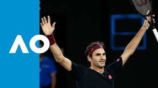 Roger Federer vs John Millman - Match Highlights (3R) | Australian Open 2020