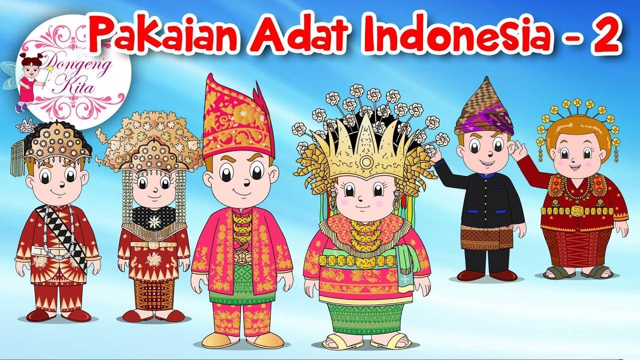 Nama Pakaian Adat Aceh Kartun