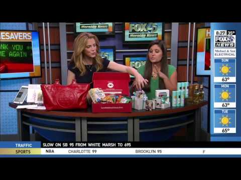 Keepsakes Collection Featured on Good Day Baltimore!