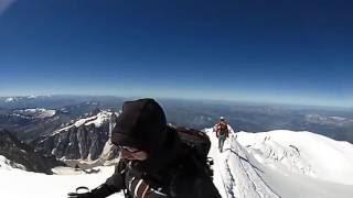 Mont Blanc 360 vídeo, summit ridge