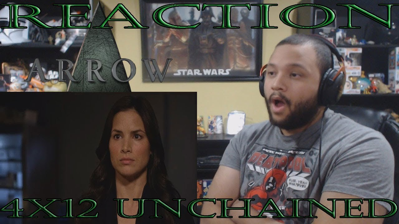 """Download Arrow - 4x12 - """"Unchained"""" - REACTION!!"""