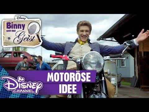 BINNY UND DER GEIST - Clip: Motoröse Idee   Disney Channel App