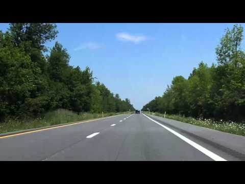 Adirondack Northway (Interstate 87 Exits 41 to 43) northbound