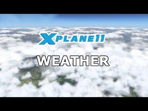 X Plane 11 | Standard Wetter | Skymaxx Pro | xEnviro | Ultra Weather XP - GERMAN